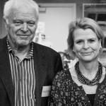 Thomas Hammarberg och Åsa Regnér