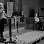 Fredrik Hollertz berättade om Svenska kyrkans arbete