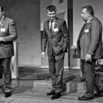 Rickard Klerfors, Valentin Preda och Anders Holmefur