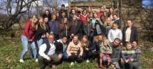 Tanneforskyrkans konfirmander på resa i Lettland våren 2017
